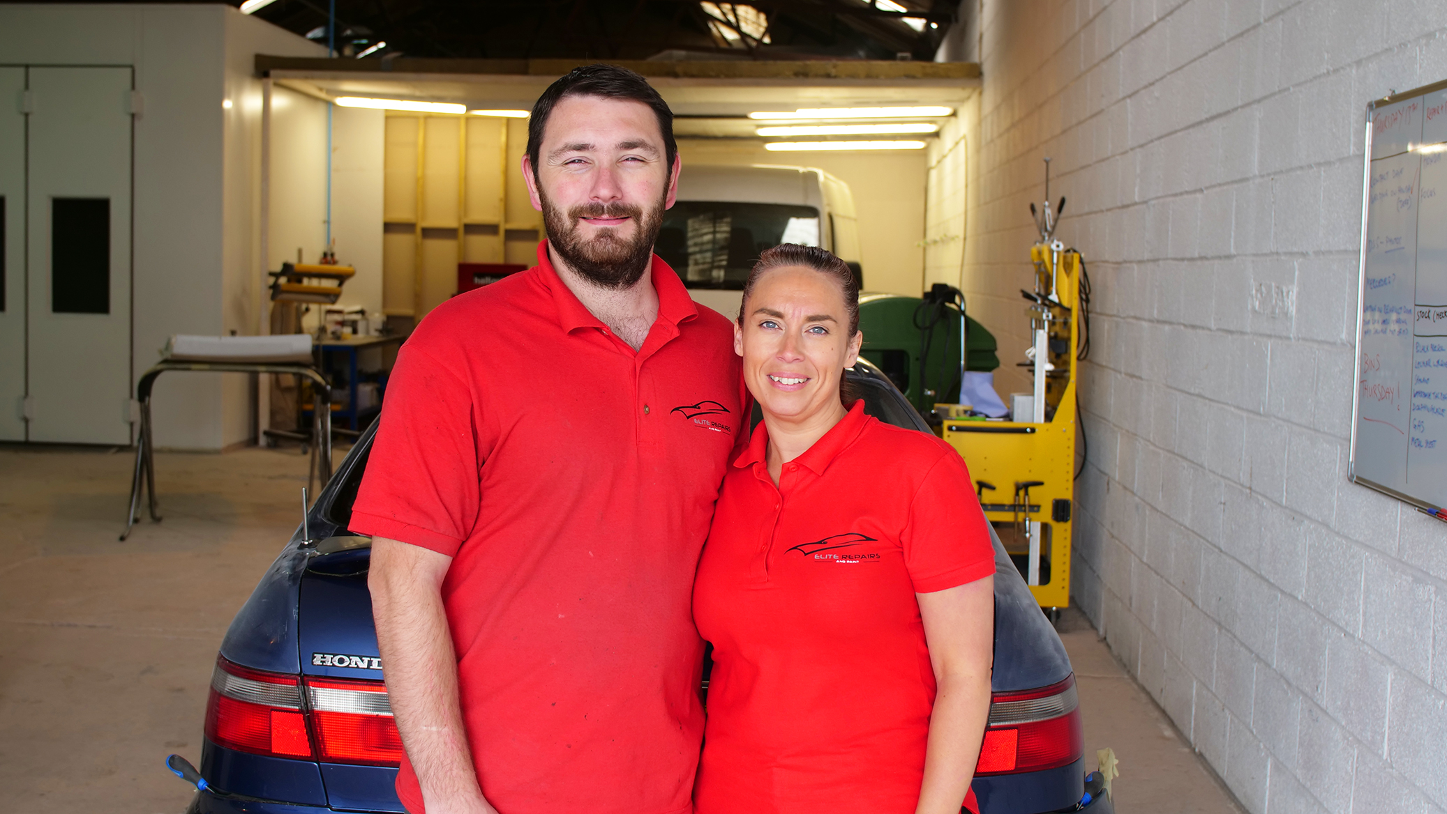 Elite Repairs Gloucester Darren And Marie